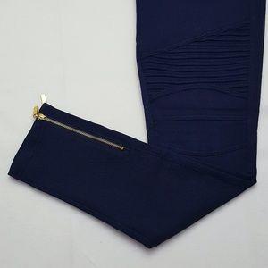 Pants - Stretchy Navy Moto Pants!